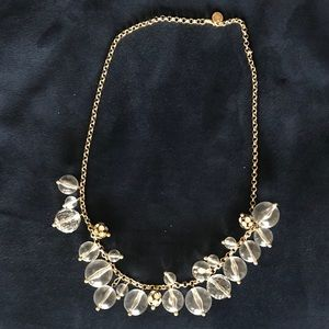 Jcrew Bobble Crystal Necklace